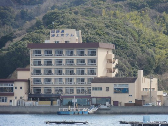 Awajishima Kaijou Hotel :                   うずしおクルーズの船から
