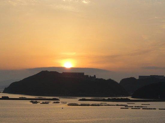 Awajishima Kaijou Hotel :                   夕焼け