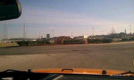 Hoosier Park:                                     It was as big as a factory!