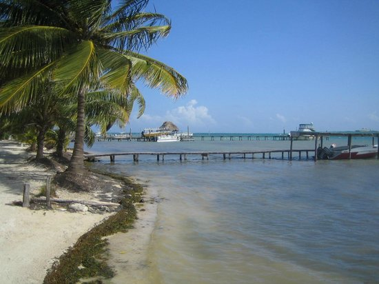 Colinda Cabanas:                                     View from the pier