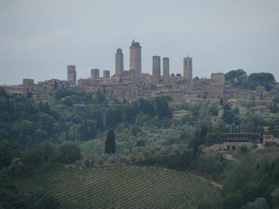 Fattoria Poggio Alloro: San Gimignano.