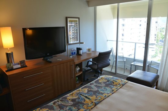 Hyatt Place Waikiki Beach: Cosy Room