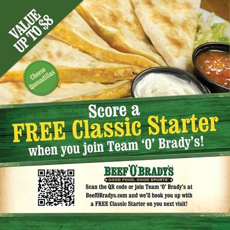 Beef O' Brady's- Chiefland: Team O' Brady's