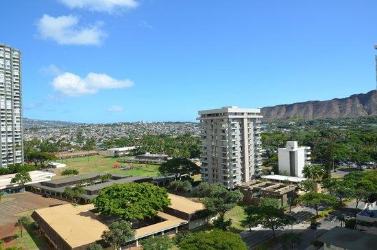Hyatt Place Waikiki Beach: Ausblick Richtung Diamond Head