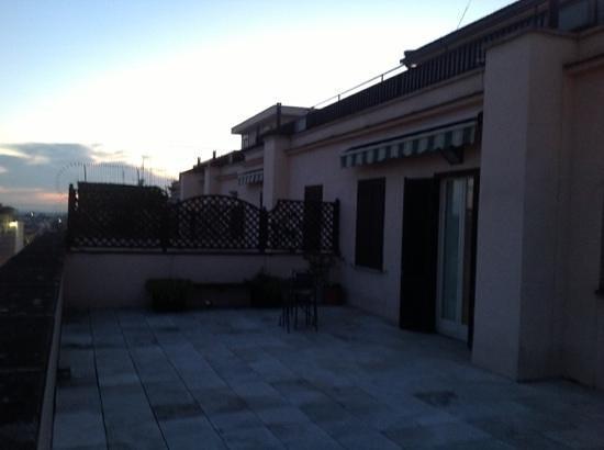 Hotel Genova:                   veranda