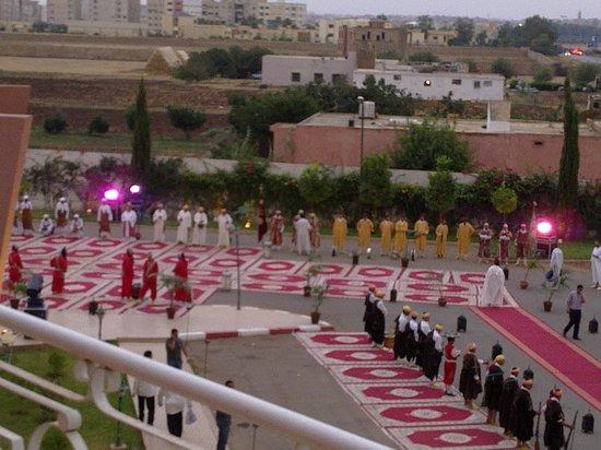 Hotel Menzeh Dalia : fête organisée à l'hôtel