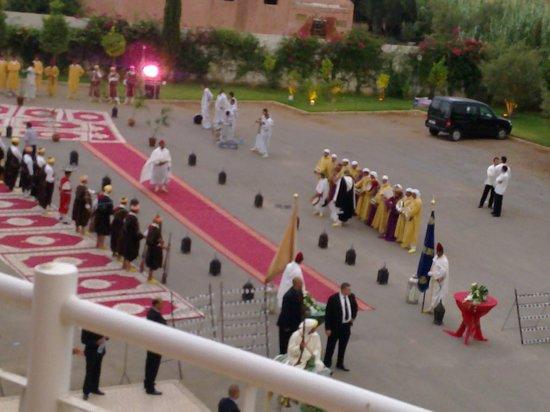 Hotel Menzeh Dalia : fête organisée