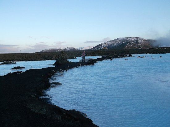 Blue Lagoon Iceland:                                     just outside the Blue Lagoon