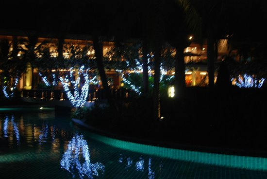 Sheraton Hua Hin Resort & Spa: The trees with lights at night