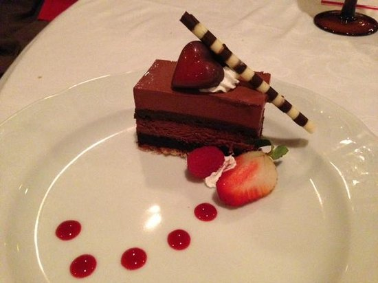 Ponte Vedra Inn & Club: Dessert on Valentine's day