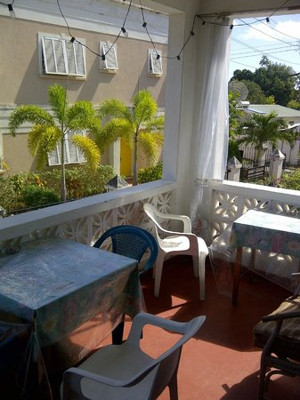 Rio Guest House:                   balcony to the east