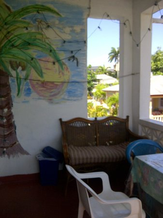 Rio Guest House:                   balcony to the west