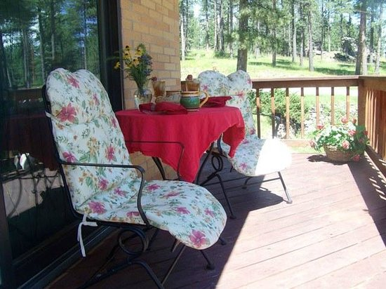 Elk Ridge Bed & Breakfast: Afternoon delight