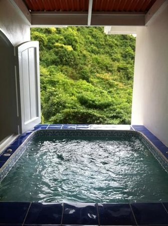 Queen's Gardens Resort & Spa:                   personal jacuzzi