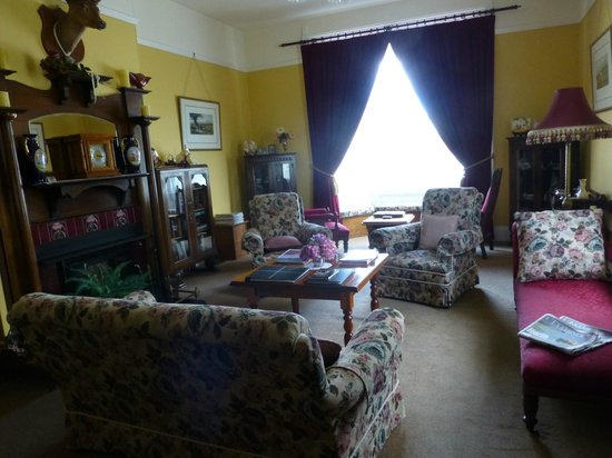 Ashton Gate Guest House:                   The parlor