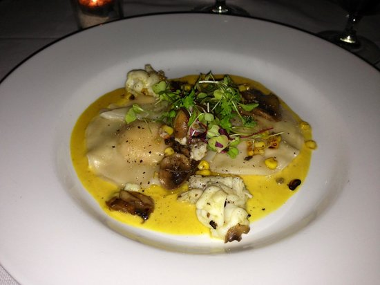 The Dunmore:                   Lobster Raviolis