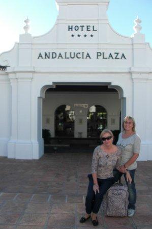 إتش تين أنالوتشيا بلازا:                   entrada del hotel                 