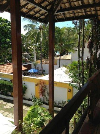Pousada Encanto de Itapoan: View from communal area