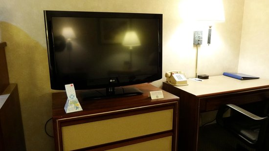 Best Western Pony Soldier Inn - Airport :                   lcd tv but analog reception