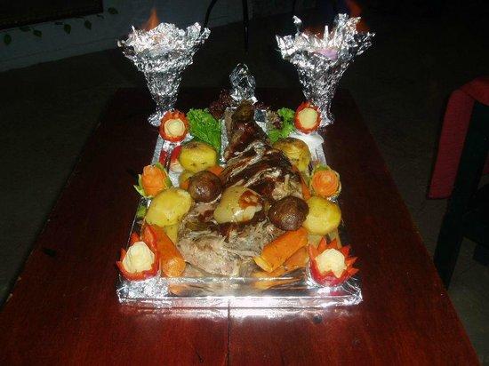 Kontes restaurant leg of lamb