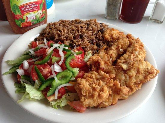 Angela's Starfish Restaurant :                                     Fried Grouper
