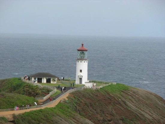 Kilauea Point National Wildlife Refuge:                   Beautiful lighthouse setting