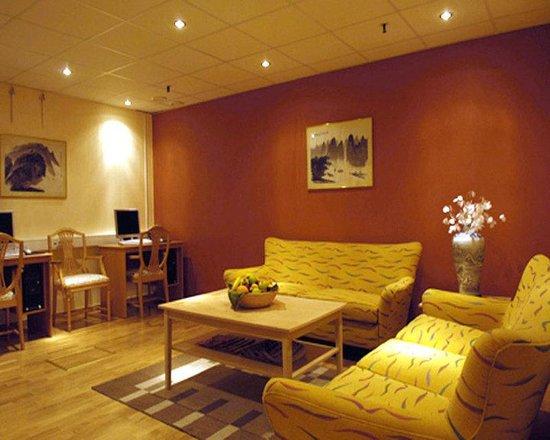 Crystal Plaza Hotel: Lounge
