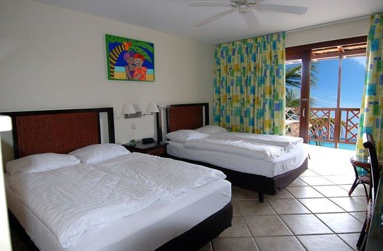 Lions Dive & Beach Resort Curacao: Oceanview