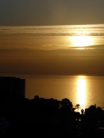 Las Yucas Beach:                   Sonnenaugang