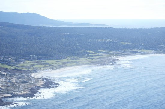 Specialized Helicopters:                   Monterey Bay Area from the air