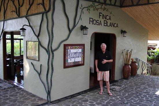 Finca Rosa Blanca Coffee Plantation Resort:                   Reception Area