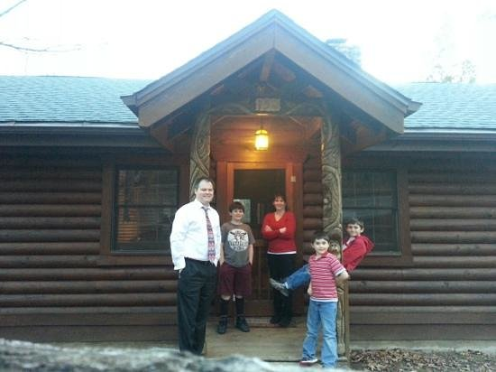 Great Branson Cabins:                   Valentines 2013