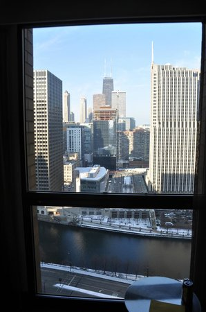Hyatt Regency Chicago: View from 2866 East Tower.