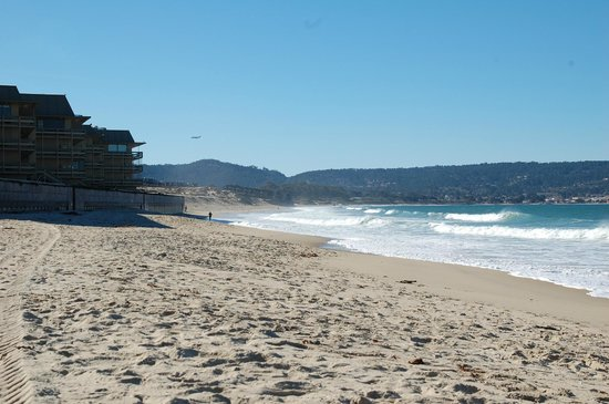 Monterey Tides:                   Hotel is right on the beach!