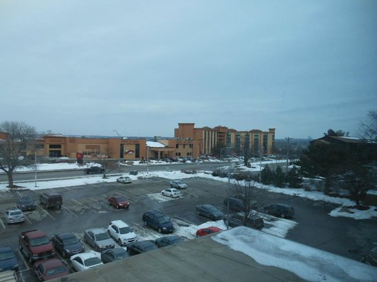 Comfort Inn & Suites : view from froom
