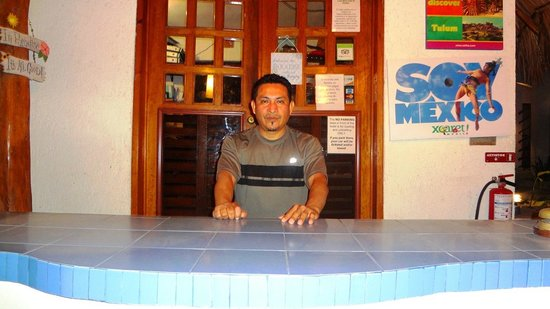 Luna Blue Hotel:                                                       Your Man Alex One of the GREAT Front Desk