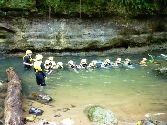 Atabey Eco Adventures :                   Body Rafting is great fun!