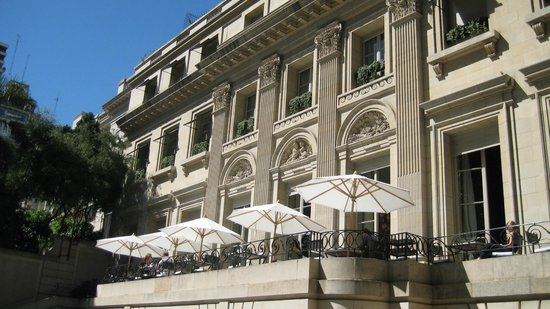 Palacio Duhau - Park Hyatt Buenos Aires: exterior of the old building