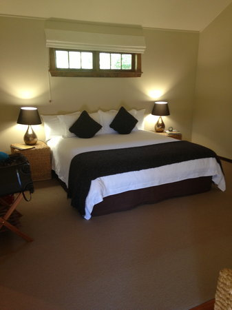 Owen River Lodge:                                     Our Room