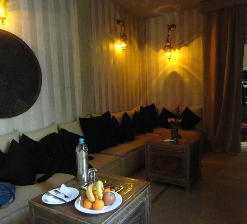Riad Joya: Dar Arabe sitting area