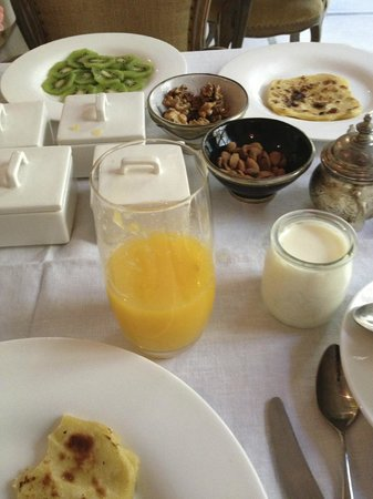 Riad Joya: Daily Breakfast