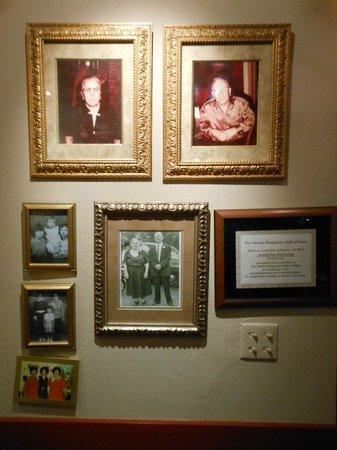 La Casa Pizzeria: Old pictures of the original family memebers
