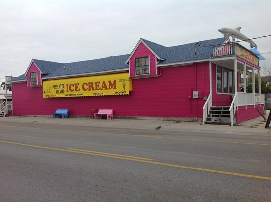 Desserted Island Ice Cream: View from Alister as you go north
