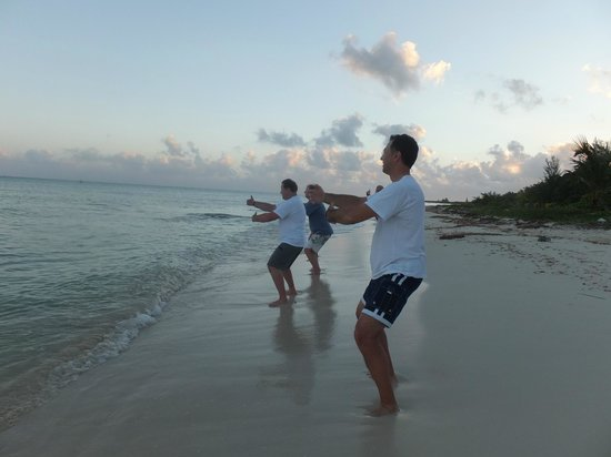 Melia Vacation Club Cozumel, All inclusive & Golf:                                     Tai Chi in the Morning