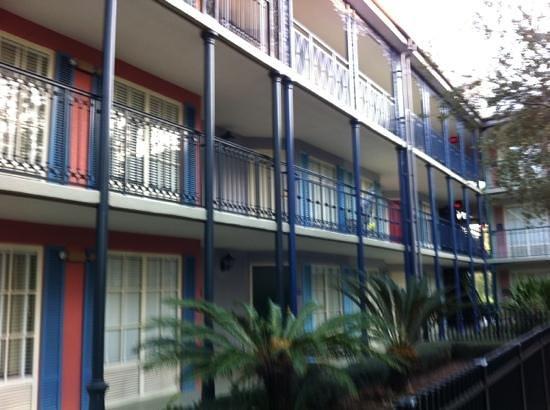 Disney's Port Orleans Resort - French Quarter:                                     building one
