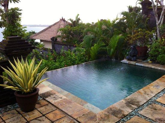 Four Seasons Resort Bali at Jimbaran Bay: The pool and view from my villa