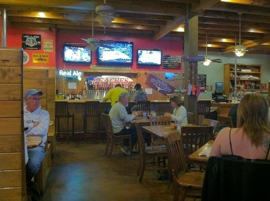 Beaches Cafe & Bakery :                   pleasant, comfortable decor...