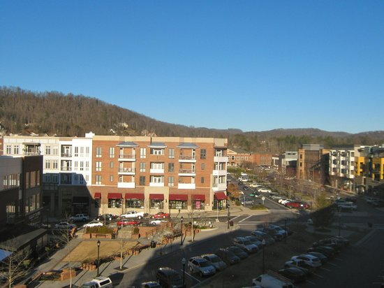 Hilton Asheville Biltmore Park: Another view from balcony