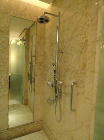 The St. Regis Singapore:                   Separate shower room
