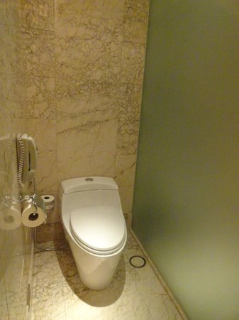 The St. Regis Singapore:                   Separate Toilet room